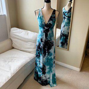 Karen Kane Tie Dye Maxi Dress
